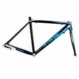 Quadro Tsw Tr20 Speed 700 C/ Garfo Aluminio Preto Azul 54