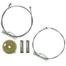 2 Kit Reparo Máquina Vidro Elétrica Traseiro Corsa Após 2002