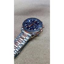 Reloj Omega 003om Seamaster Cronometro Oro Rosa Acero Azul