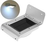 Lámpara 16w 100 Lumen Led Solar Sensor Movimiento Exteriores