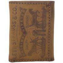 Billeteras Hombre Monedero Levis Triptico De Levi, El Co 620