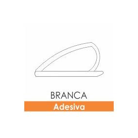 Borracha De Vedação Adesiva Branca Porta De Madeira
