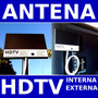 Antena Hdtv Digital Tv Uhf Hd 15 Dbi Db Externa Interna Box