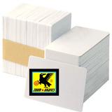 Caja De Credenciales Pvc Impresoras Inyeccion Amb. Lados