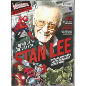 Mundo Dos Super-herois Especial Stan Lee 01 Bonellihq 1 Cx18