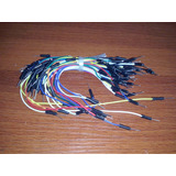 Pack 65 Cables Macho Macho Para Protoboard