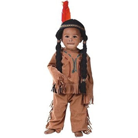 Disfraz Niño Bebés Hilado Del Traje Indian Boy - Embarazo