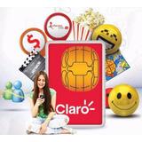 Sim Card Claro Prepago X 50 Unds 4g Envio Gratis