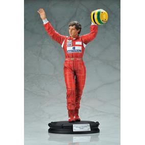 F1 Formula 1 Estátua Do Ayrton Senna 1/6 - Raridade