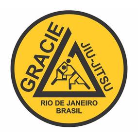 Adesivo Gracie Jiu Jitsu Rio De Janeiro Frete Grátis