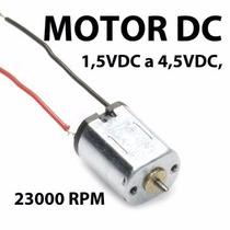 Motor Dc Para Trabajo Electronica, Juguete, Proyectos Etc