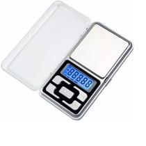 Mini Balança Digital De Bolso 0,1g Até 500g Alta Precisão