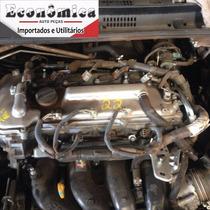 Motor Parcial Toyota Corolla Xei 2.0 16v A Base De Troca