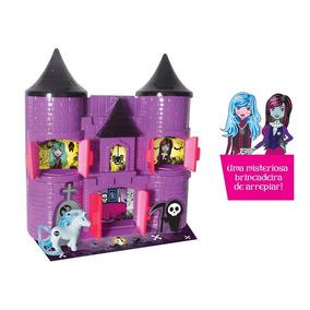 Castelo Dark Monster High Bruxa Menina Brinquedo