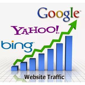 1000 Visitas Orgânicas Google, Bing, Yahoo Sites, Blogs