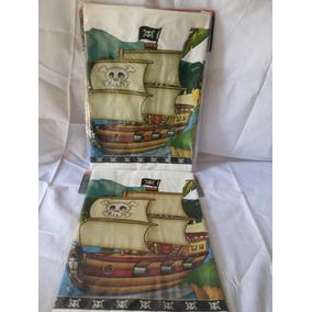 Toalha Plástica Piratas