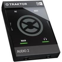 Interface Traktor Audio 2 Mk2 Native Instruments Para Djs