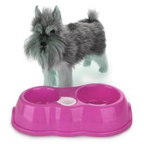 Dispensador Automatico Alimento Agua Perro Gato Rosa Q1011