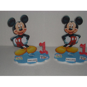 Centros De Mesas De Minnie Mickey Basico