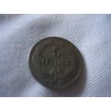 Moneda 5centimos 1946estados Unidos De Vzla Cobre-niquel