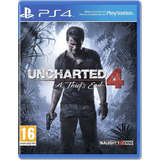 Uncharted 4: Ps4 A Thief