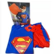 Disfraz De Superman. Ropa Niño. Carnaval