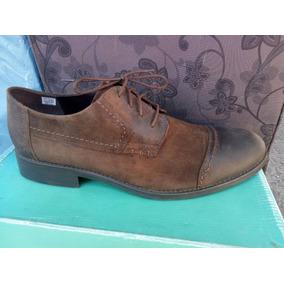 Zapato Marca Clarks 100% Cuero Color Café N° 46.