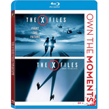 Blu-ray The X Files 1 & 2 / Expedientes X / Incluye 2 Films