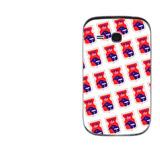 Capa Adesivo Skin338g1 Verso Para Samsung Chat 226 Gt-e2262