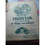 Moto Honda Publicidad Propaganda
