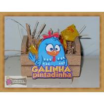 Lembrancinhas Galinha Pintadinha - Mini Caixotes Mdf