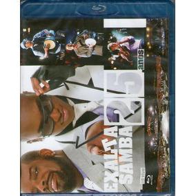 Blu-ray Exalta Samba - 25 Anos - Novo***