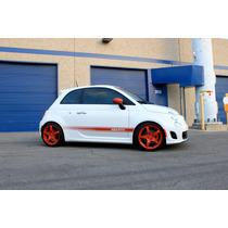 4 Rines Ultralivianos Para Fiat 500 / Sport / Abarth