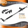 Estribo Inoxidable Eco-sport 1.65mts 3 + Soportes (bracco)
