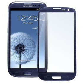 Cristal Glass Galaxy S3 19300 Azul Peeble + Pegamento Uv