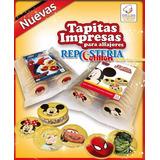 Tapas De Alfajor Impresas X 24 Unidades Oferton!!!!