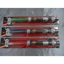 Espada Sabre Star Wars Espacial Com Luz E Som