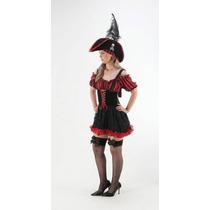 Fantasia Pirata Feminino - Adulto
