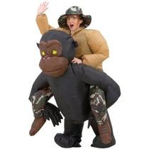 Inflable Riding Gorila Traje Adulto Hombres Traje