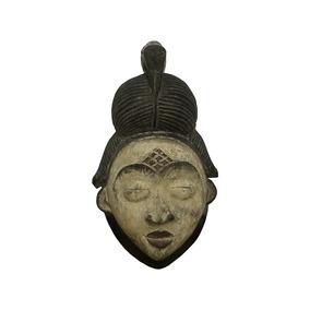 Mascara Madeira Orixá Exu Deus Africano 20cm Arte Afro Frete