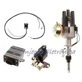 Kit Ignição Eletrônica Opala Caravan 4 Cil. 4cc 4 Cilindros
