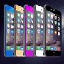 Vidrio Templado Lujo Protector Pantalla Color Iphone 4 5 6 7