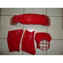 Kit Plásticos Xl 125 86 / 87 1986 E 1987 Vermelha Carenagens