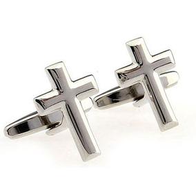 Mancuernillas Cruz Cristiano Jesus Sacerdote Camisa 320