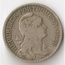 Portugal, Escudo, 1928. F+ / Vf-