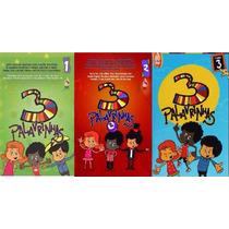 Dvd 3 Palavrinhas - Infantil Volume 1,2 & 3 - Super Prompção