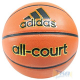 Bola adidas Basquete All Court Oficial N7 Couro