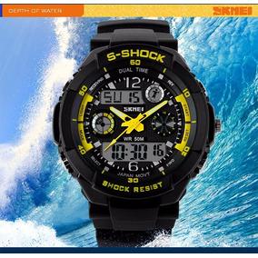 Reloj Militar Skmei Shock Sumergible 50 Mts A Prueba De Agu