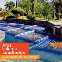 Aro Solar Sistema Climatizador Para Alberca Cubierta Caldera