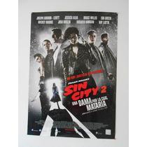 Poster Original Sin City 2: Eva Green, Jessica Alba!...